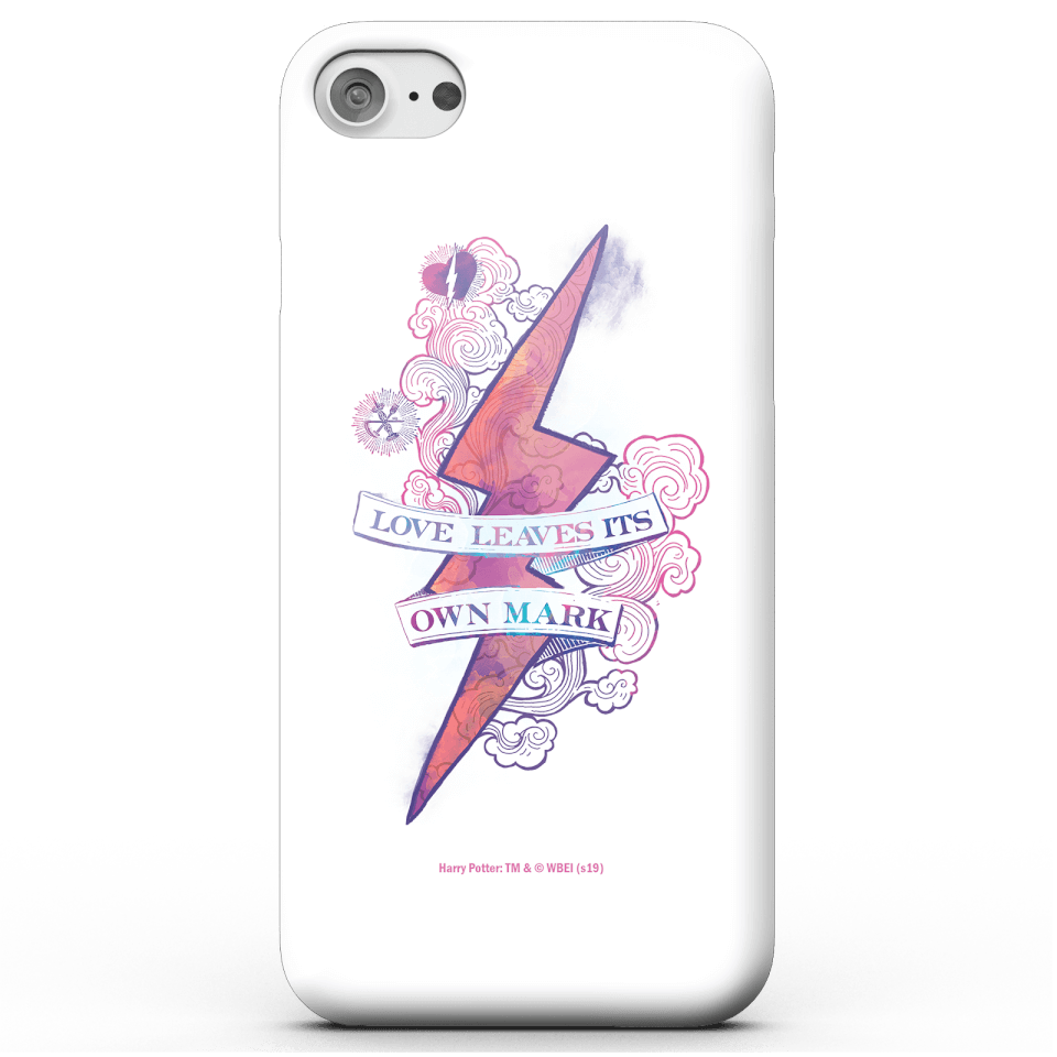 Harry Potter Love Leaves Its Own Mark Phone Case for iPhone and Android - iPhone 7 - Carcasa doble capa - Brillante
