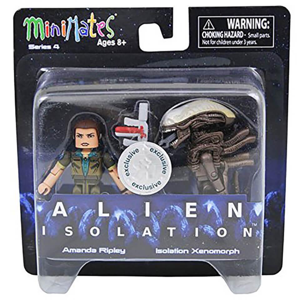 Alien Minimates Amanda Ripley & Isolation Xenomorph