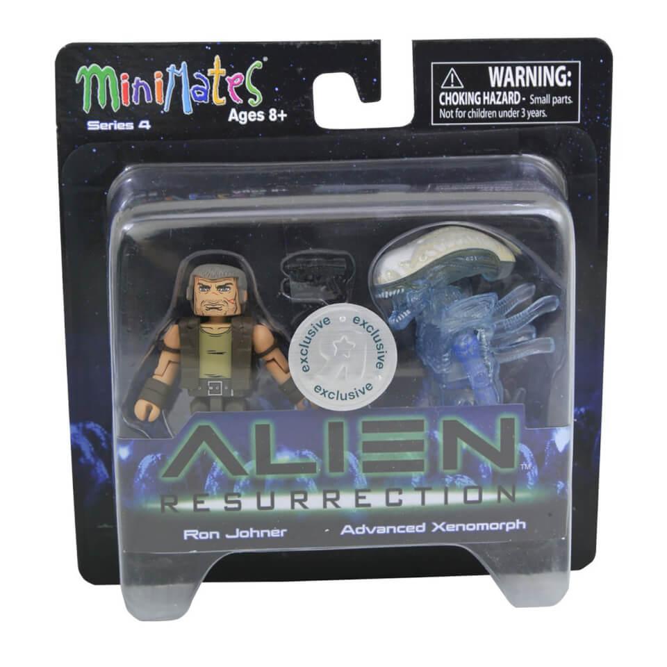 Alien Minimates Ron Johner & Advanced Xenomorph