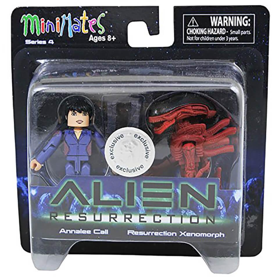 Alien Minimates Annalee Call Resurrection Xenomorph