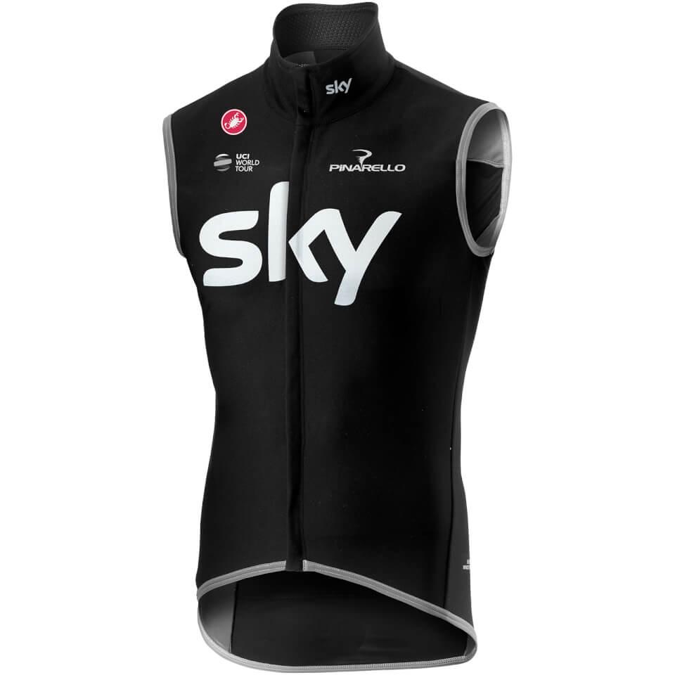 Team Sky Perfetto Vest - Black | Vests