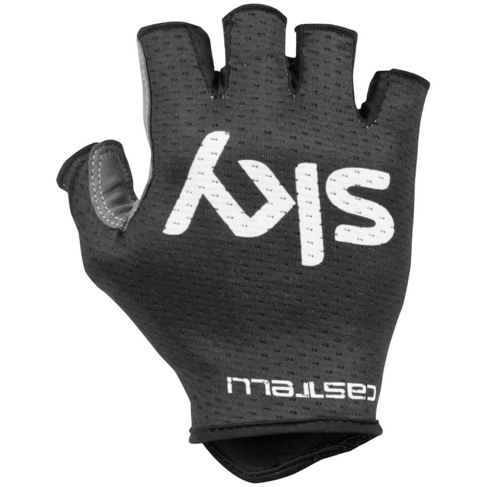 Team Sky Track Mitts - Black | Gloves