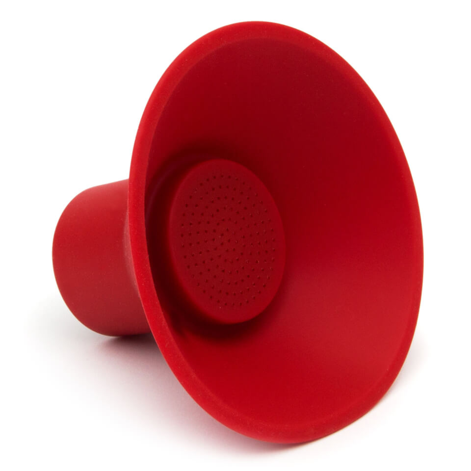 Wireless Icon Speaker Rot