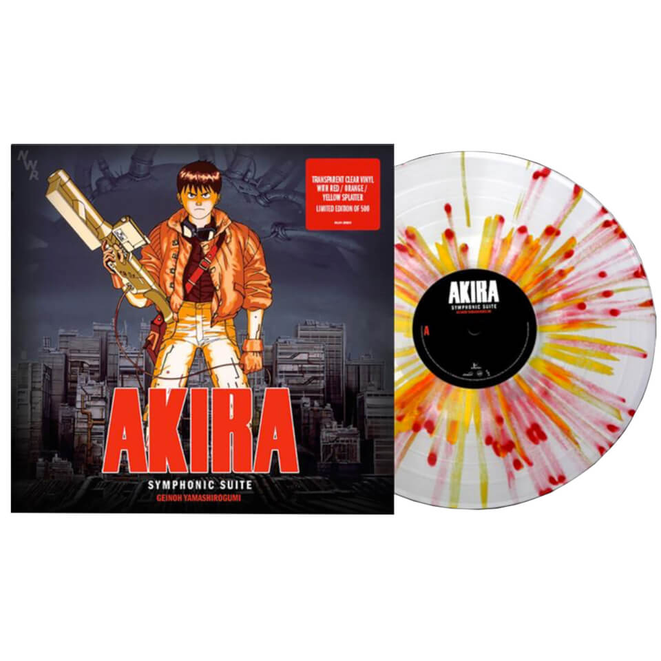 Akira (Original Soundtrack Album) Geinoh Yamashirogumi - Symphonic Suite (Limited to 500 pieces)