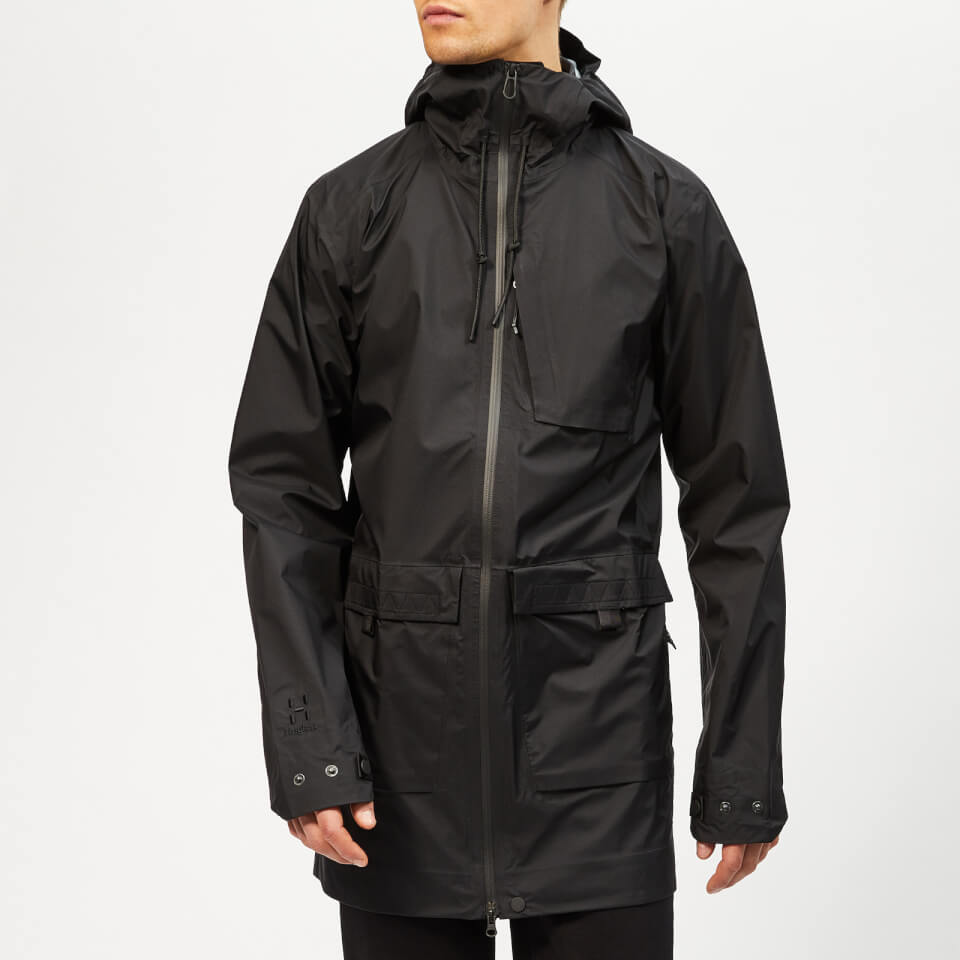 Haglofs Men's Nusnas 3L Jacket - True Black - S - Black