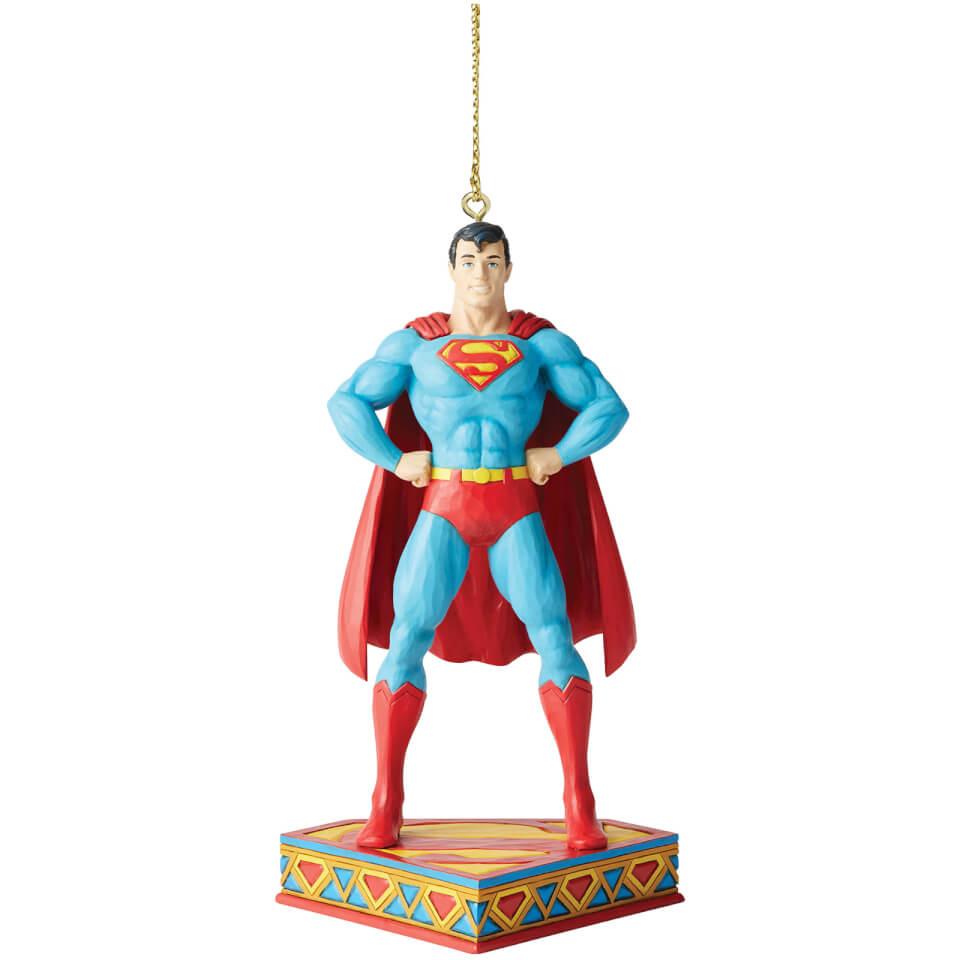 Nützlichfanartikel - DC Comics by Jim Shore Superman Hanging Ornament 11.0cm - Onlineshop Sowas Will Ich Auch