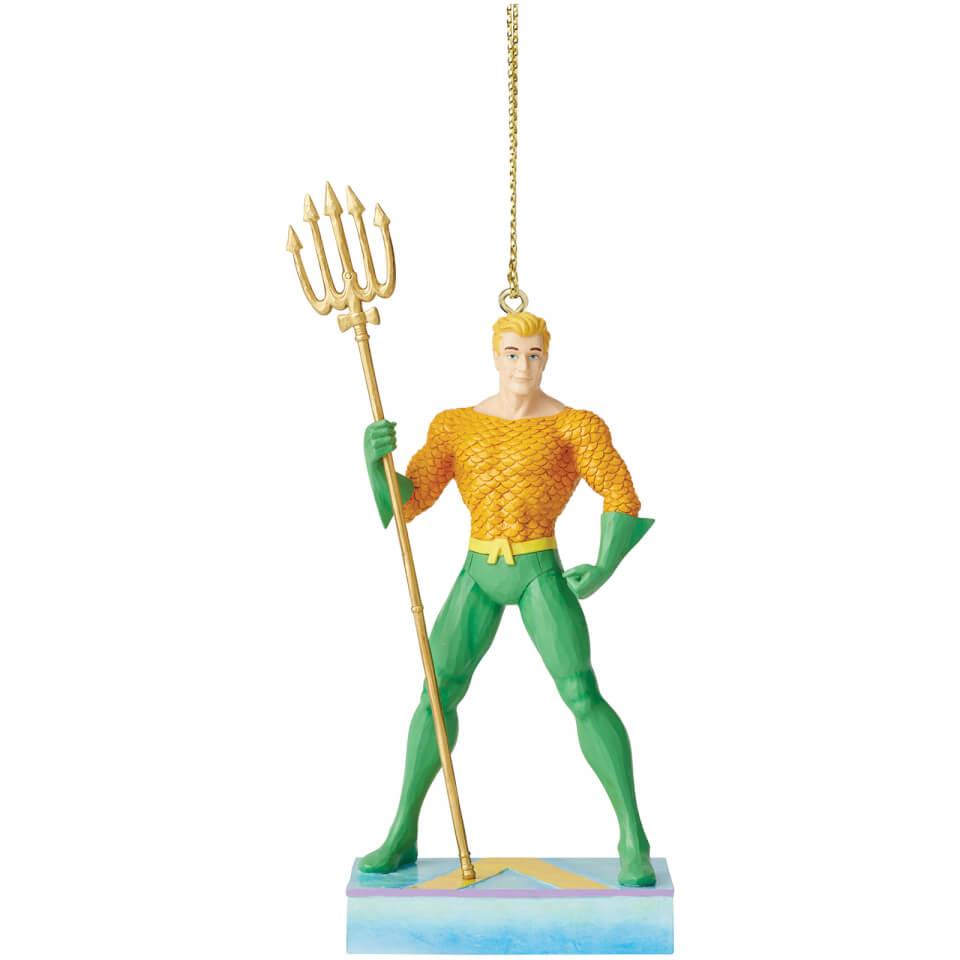 Nützlichfanartikel - DC Comics by Jim Shore Aquaman Hanging Ornament 11.0cm - Onlineshop Sowas Will Ich Auch