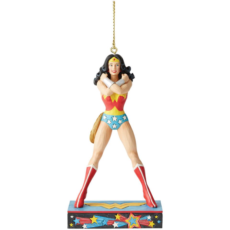 Nützlichfanartikel - DC Comics by Jim Shore Wonder Woman Hanging Ornament 11.0cm - Onlineshop Sowas Will Ich Auch