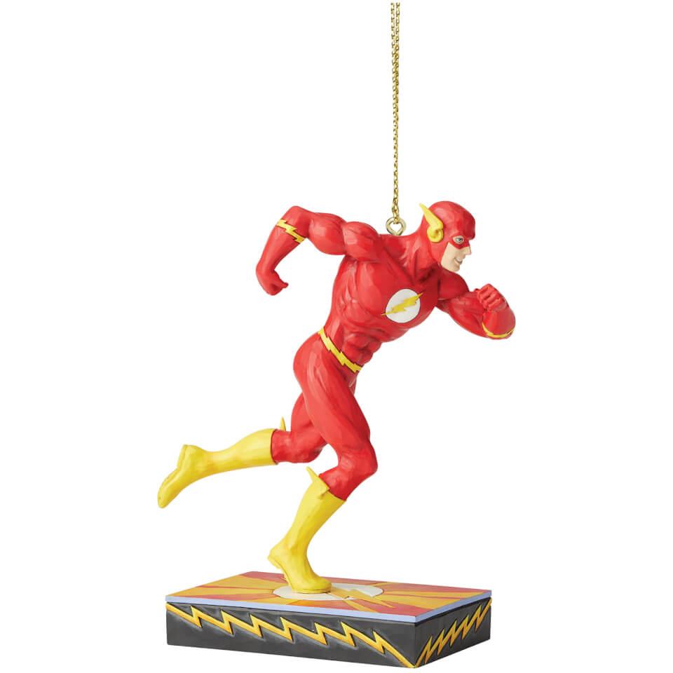 Nützlichfanartikel - DC Comics by Jim Shore Flash Hanging Ornamentnt 11.0cm - Onlineshop Sowas Will Ich Auch