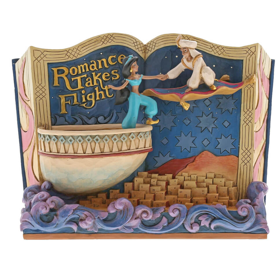 "Disney Traditions Romance Takes Flight (Buch ""Aladdin"") 14,0 cm"