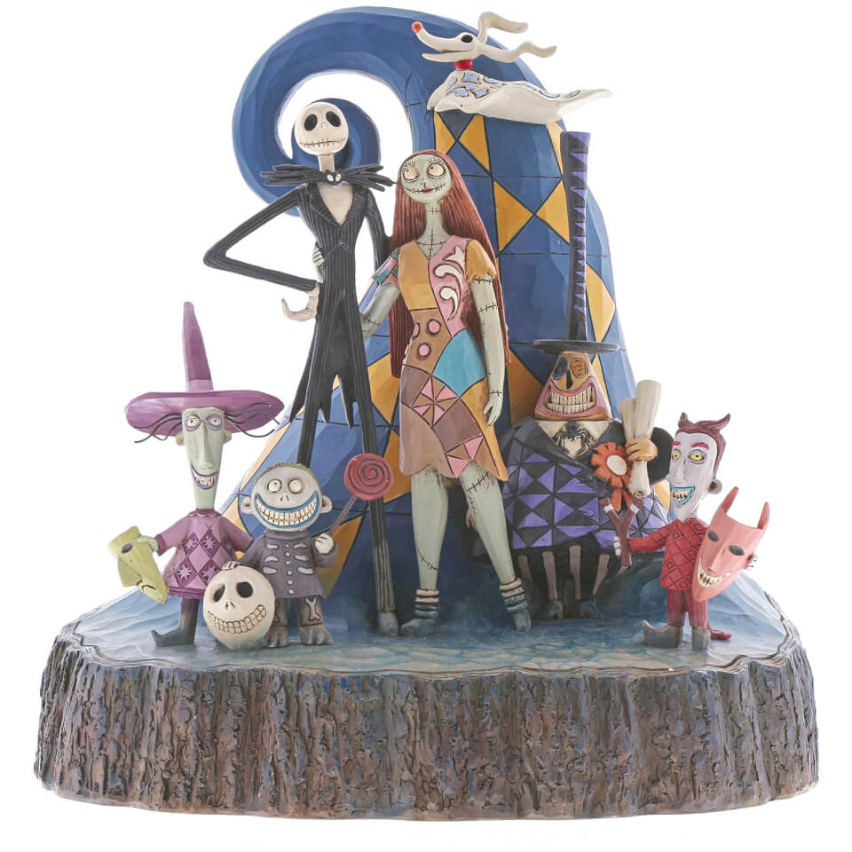 Nützlichfanartikel - Disney Traditions What A Wonderful Nightmare (Carved By Heart The Nightmare Before Christmas) 20.0cm - Onlineshop Sowas Will Ich Auch