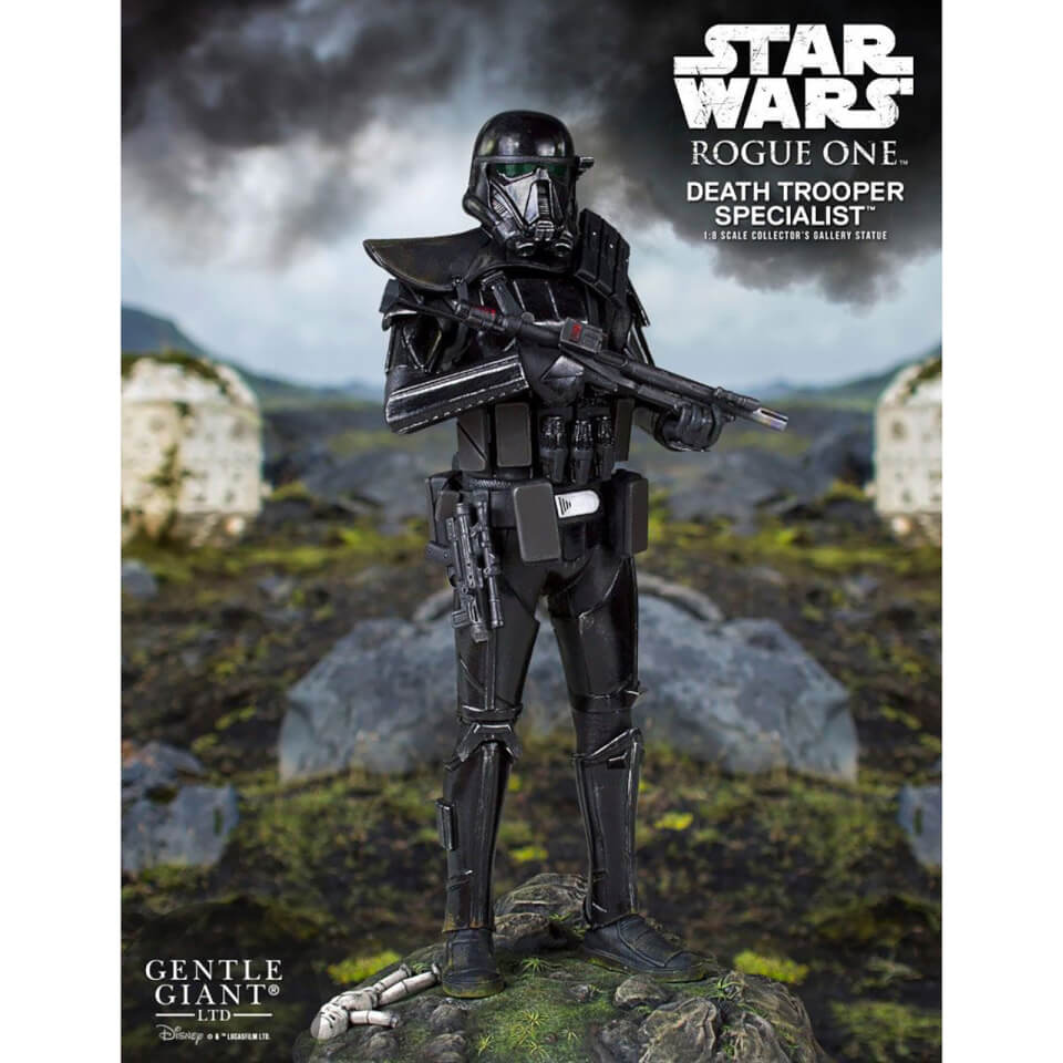 Gentle Giant Star Wars: Rogue One - A Star Wars Story 1:8 Death Trooper Specialist Collector's Statue