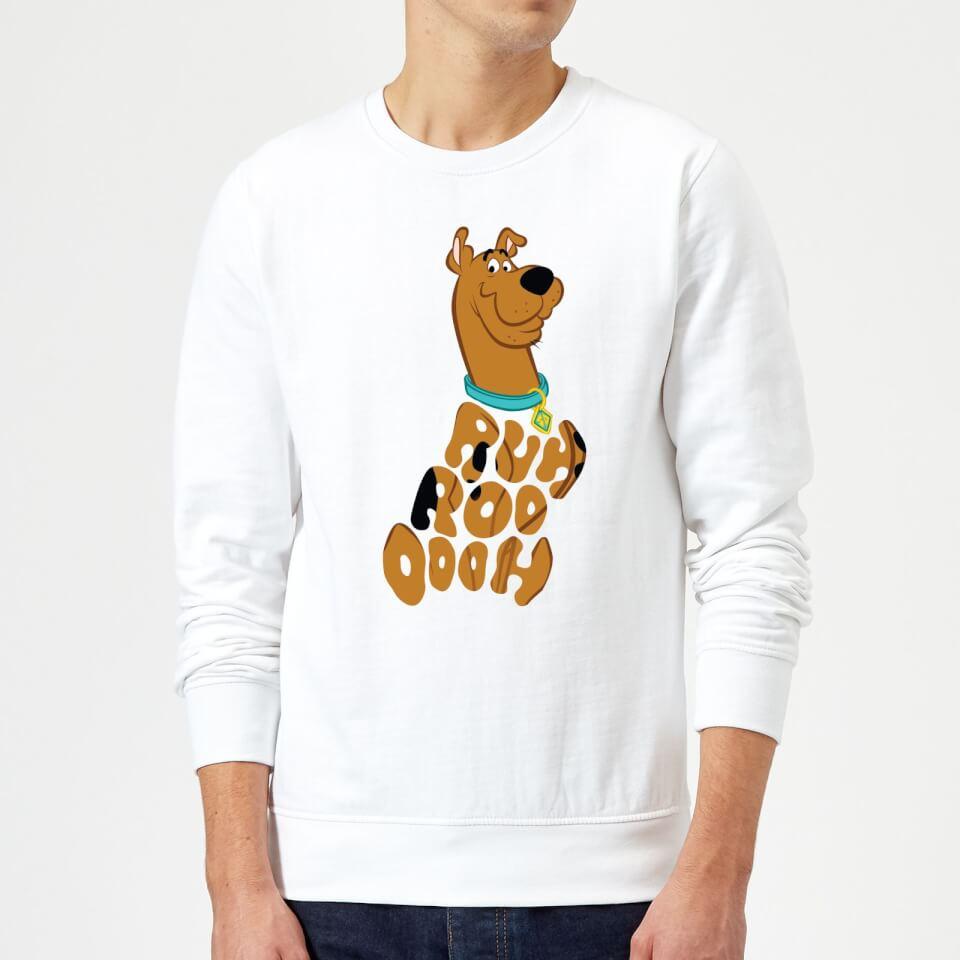 Scooby Doo RUHROOOOOH Sweatshirt - White - XL - Blanco