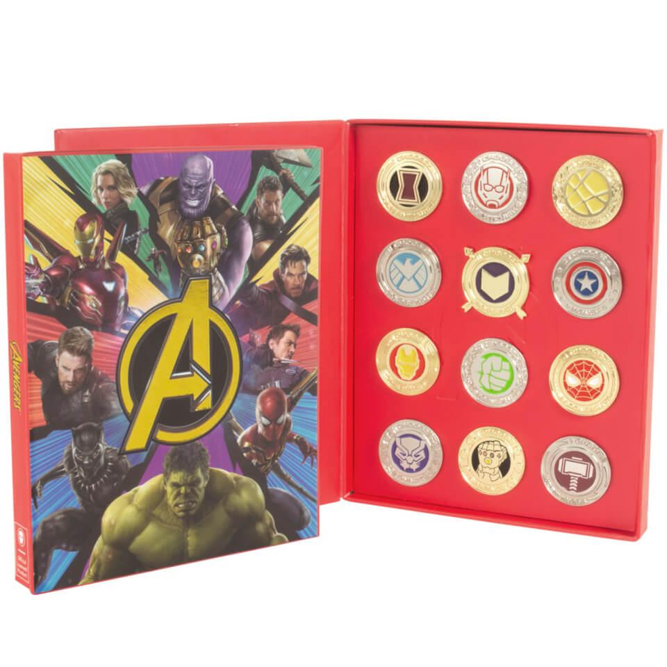 Marvel Avengers Pin Set