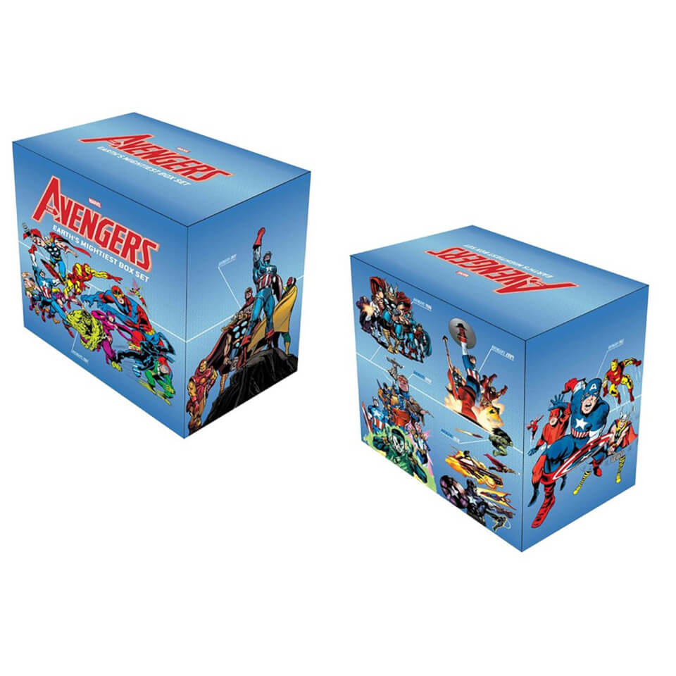 Avengers: Earth's Mightiest Box Set Slipcase (Hardback)