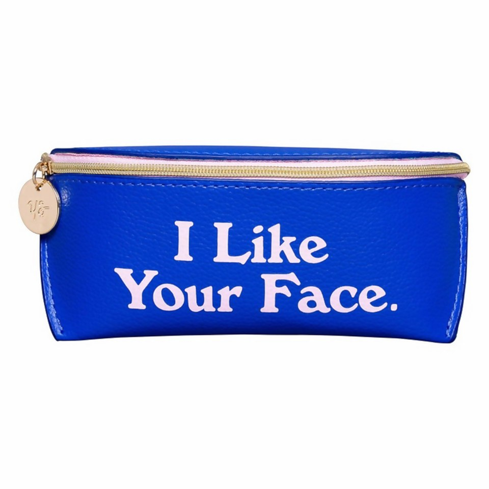 Ausgefallengadgets - Yes Studio I Like Your Face Glasses Case - Onlineshop Sowas Will Ich Auch