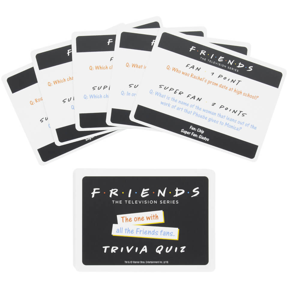 Friends Trivia Quiz