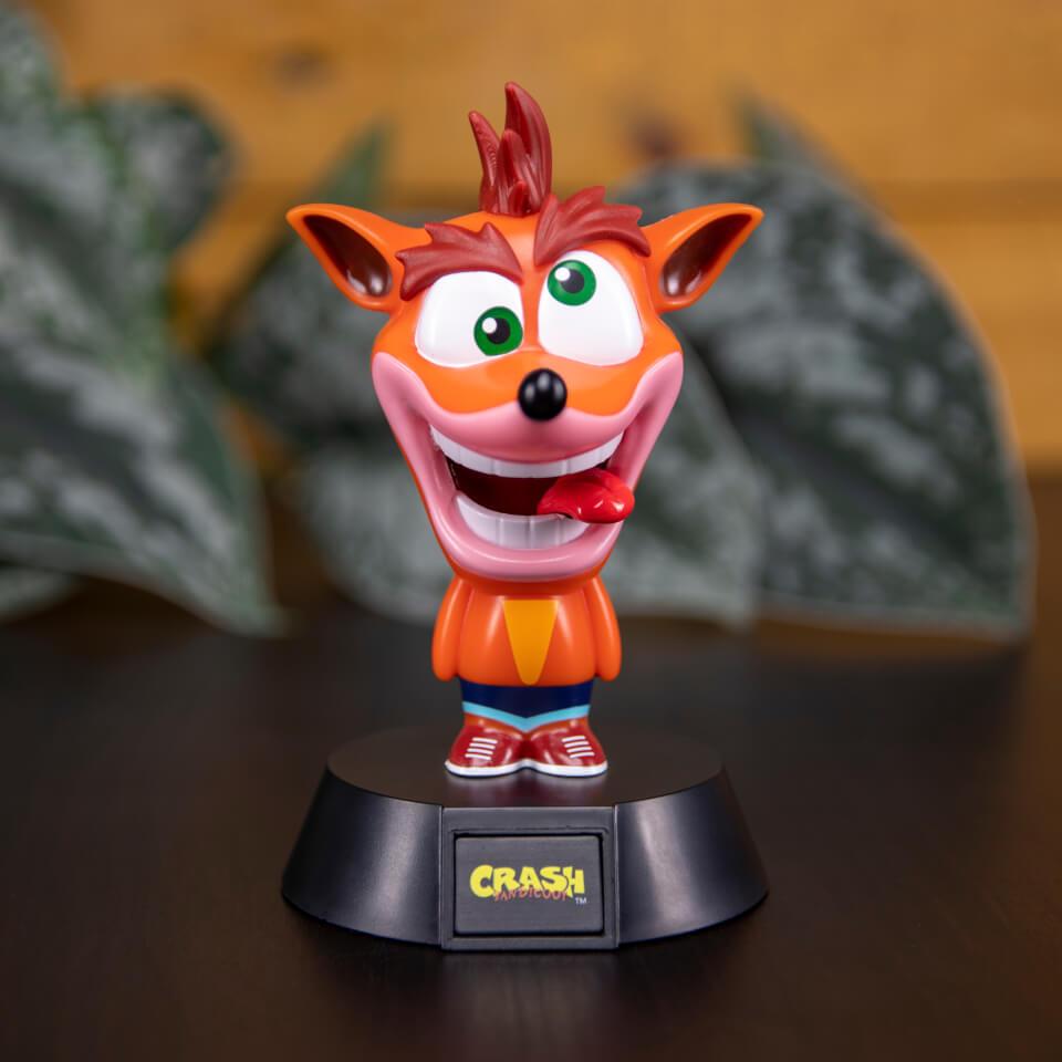Ausgefallengadgets - Crash Bandicoot Icon Light - Onlineshop Sowas Will Ich Auch