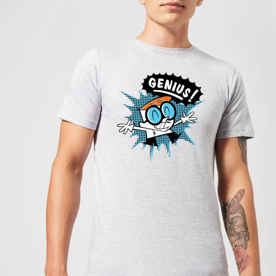 Nützlichfanartikel - Dexters Lab Genius Men's T Shirt Grey 4XL - Onlineshop Sowas Will Ich Auch