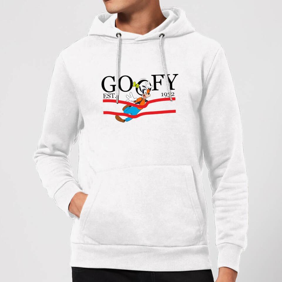 Disney Goofy By Nature Hoodie - White - XXL - White