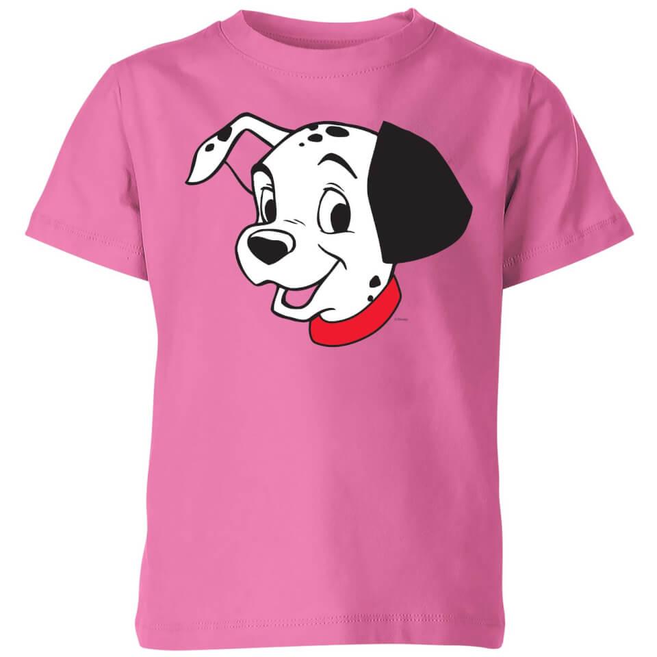 Nützlichfanartikel - Disney 101 Dalmatians Head Kinder T Shirt Pink 7 8 Jahre - Onlineshop Sowas Will Ich Auch