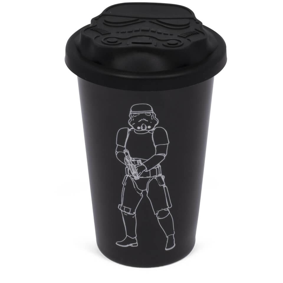 Original Stormtrooper Ceramic Travel Mug - Black