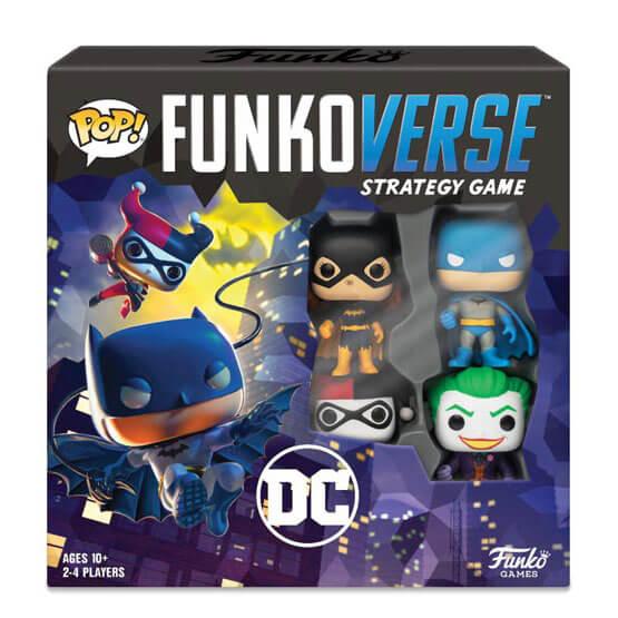 Nützlichfanartikel - Funkoverse DC Comics Brettspiel (4er Pack) - Onlineshop Sowas Will Ich Auch