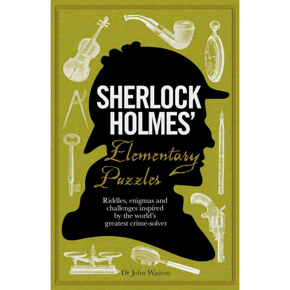 Sherlock Holmes' Elementary Puzzles (Hardback)