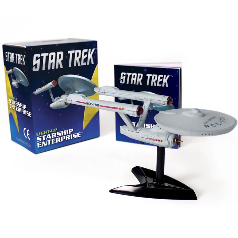 Star Trek Leuchtende Raumschiff Enterprise