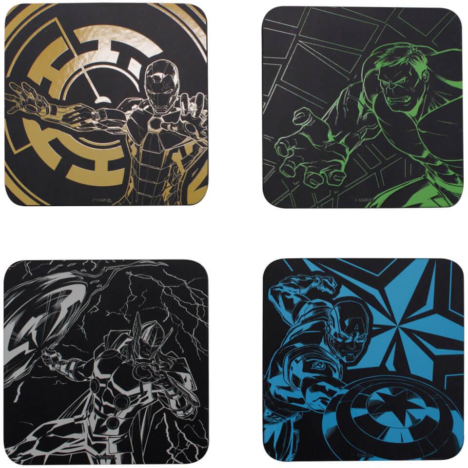 Marvel Avengers Coaster Set