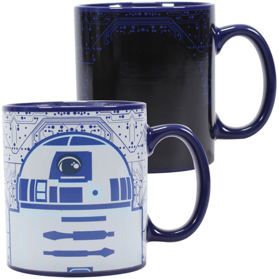 Star Wars Heat Changing Mug R2D2