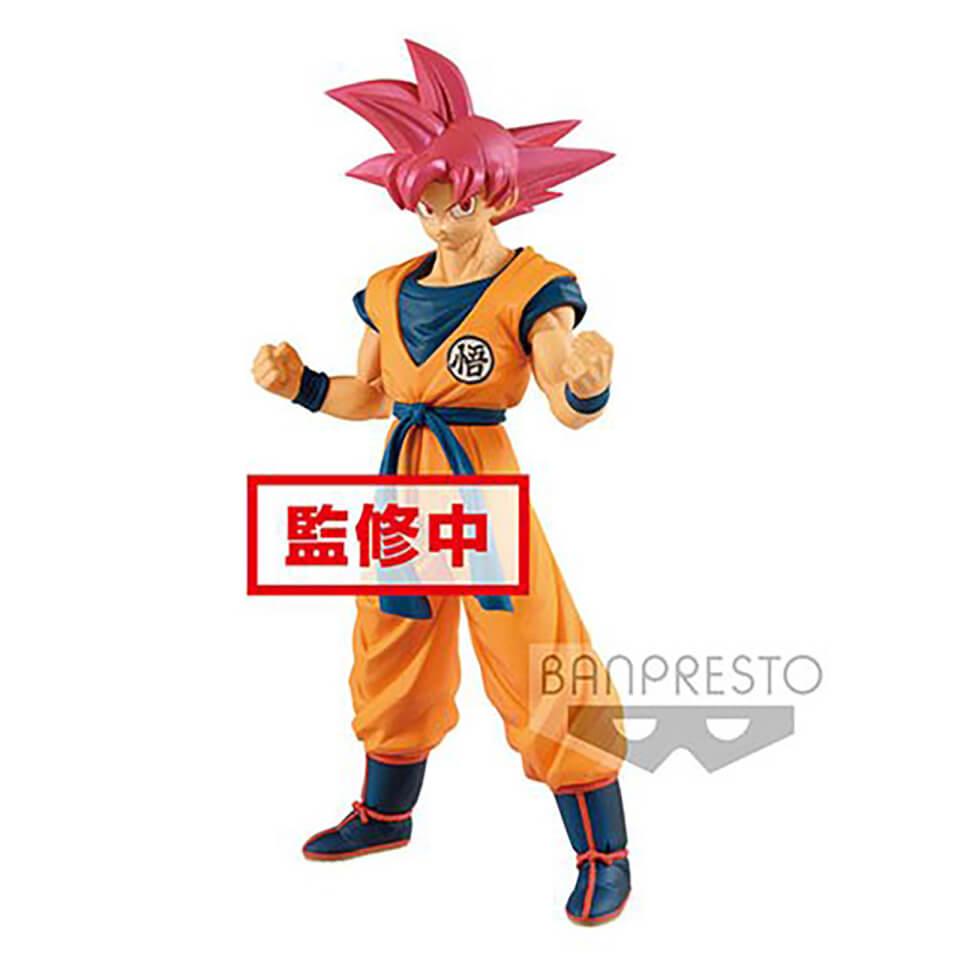 Banpresto Dragon Ball Super Movie Super Saiyan God Son Goku Statue