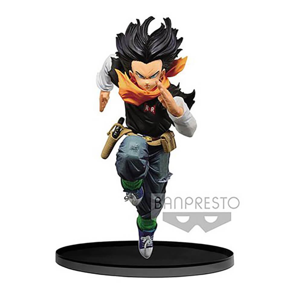 Banpresto Dragon Ball Z Android 17 B.W.C. 2 Vol.4 Statue