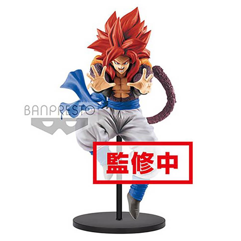 Banpresto DB GT Ultimate Fusion SS 4 Gogeta Big Bang Kamehameha Statue