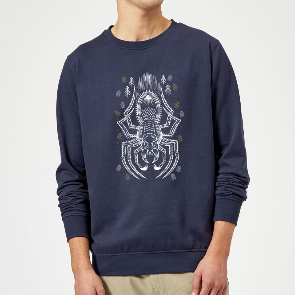 Harry Potter Aragog Sweatshirt - Navy - S - azul marino