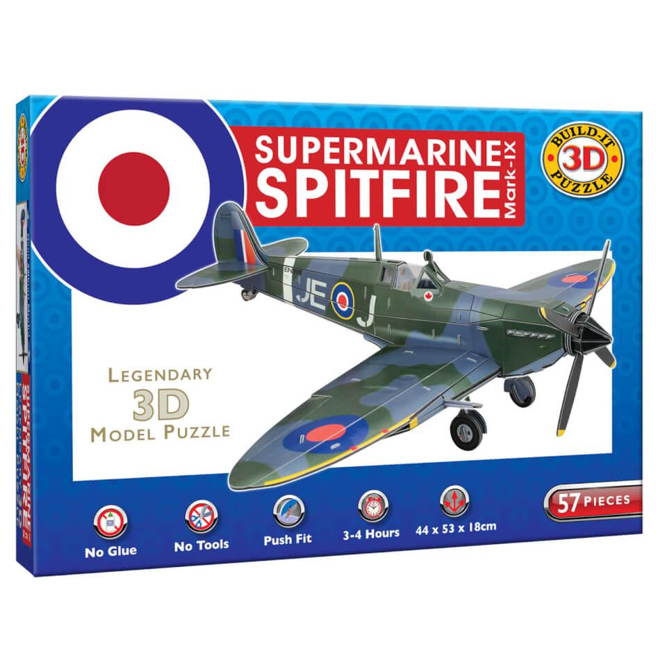 Ausgefallenkreatives - Build it 3D Spitfire Puzzle - Onlineshop Sowas Will Ich Auch