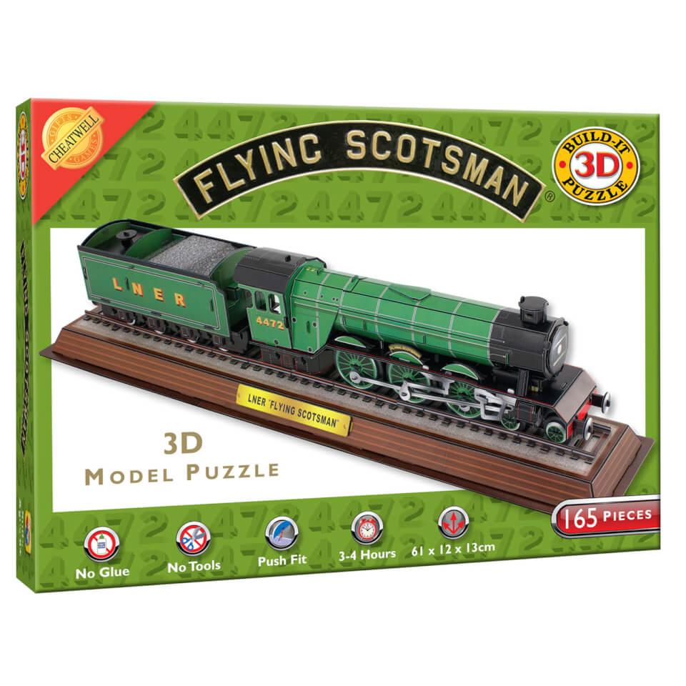 Build it 3D Scotsman Puzzle
