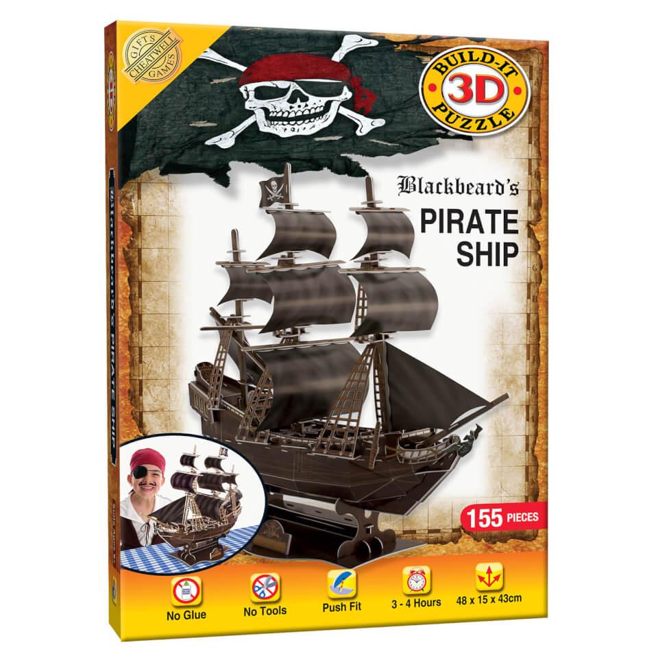 Build it 3D Pirate Ship Puzzle