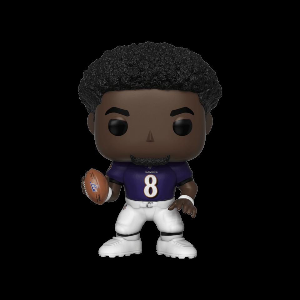 NFL Ravens Lamar Jackson Pop! Vinyl Figur