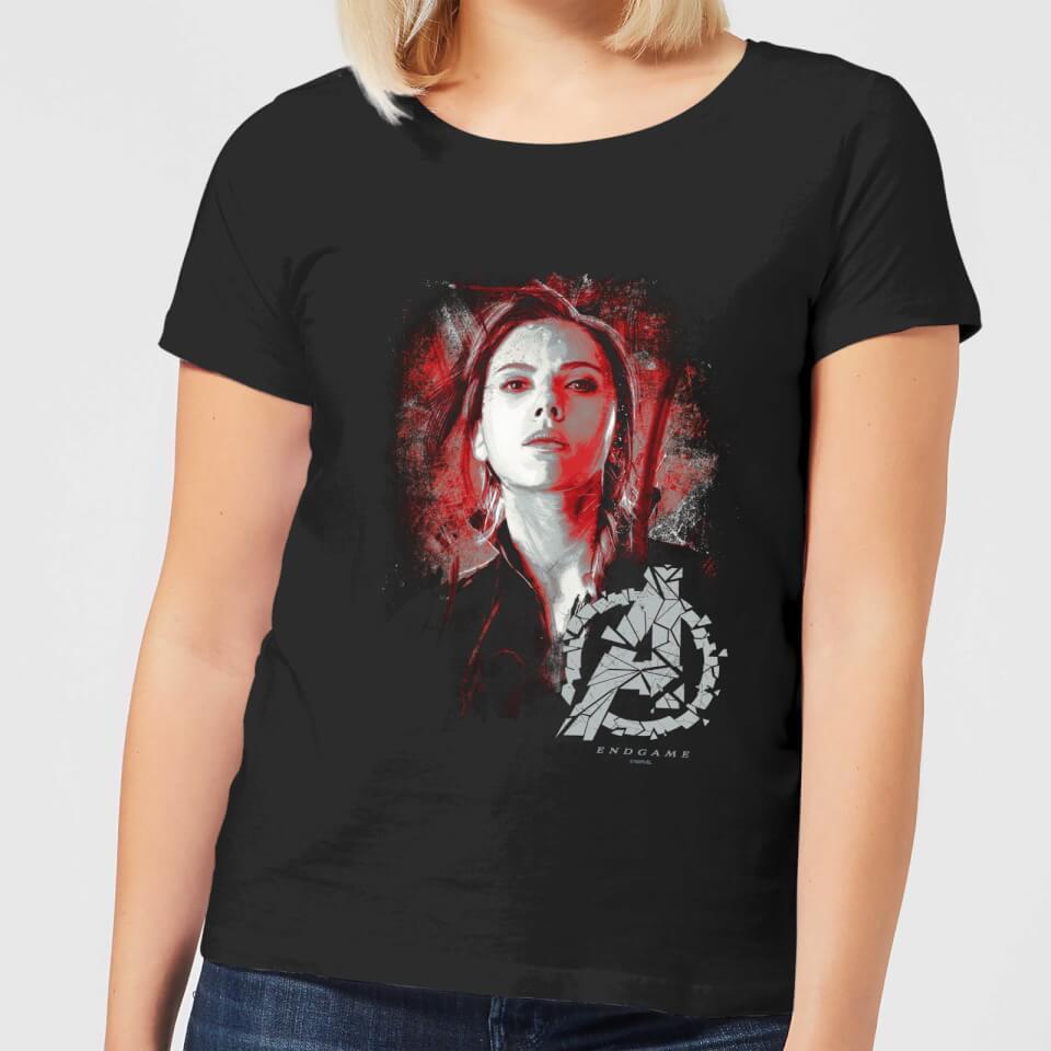 Black Large Rubies Marvel Womens Universe Black Widow Classic T Shirt