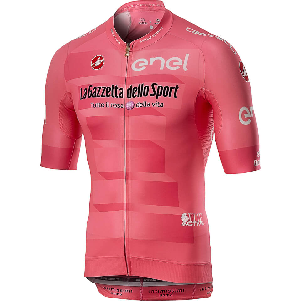 Castelli Giro D'Italia Race Jersey - Rosa Giro   Trøjer