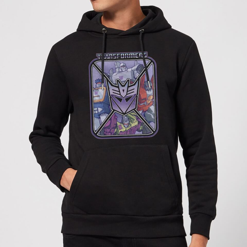 Nützlichfanartikel - Transformers Decepticons Hoodie Black XXL Schwarz - Onlineshop Sowas Will Ich Auch