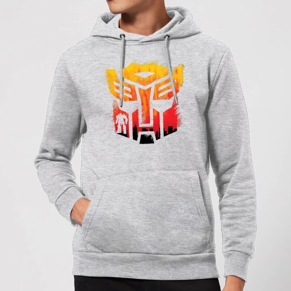 Nützlichfanartikel - Transformers Autobot Symbol Hoodie Grey XXL Grau - Onlineshop Sowas Will Ich Auch