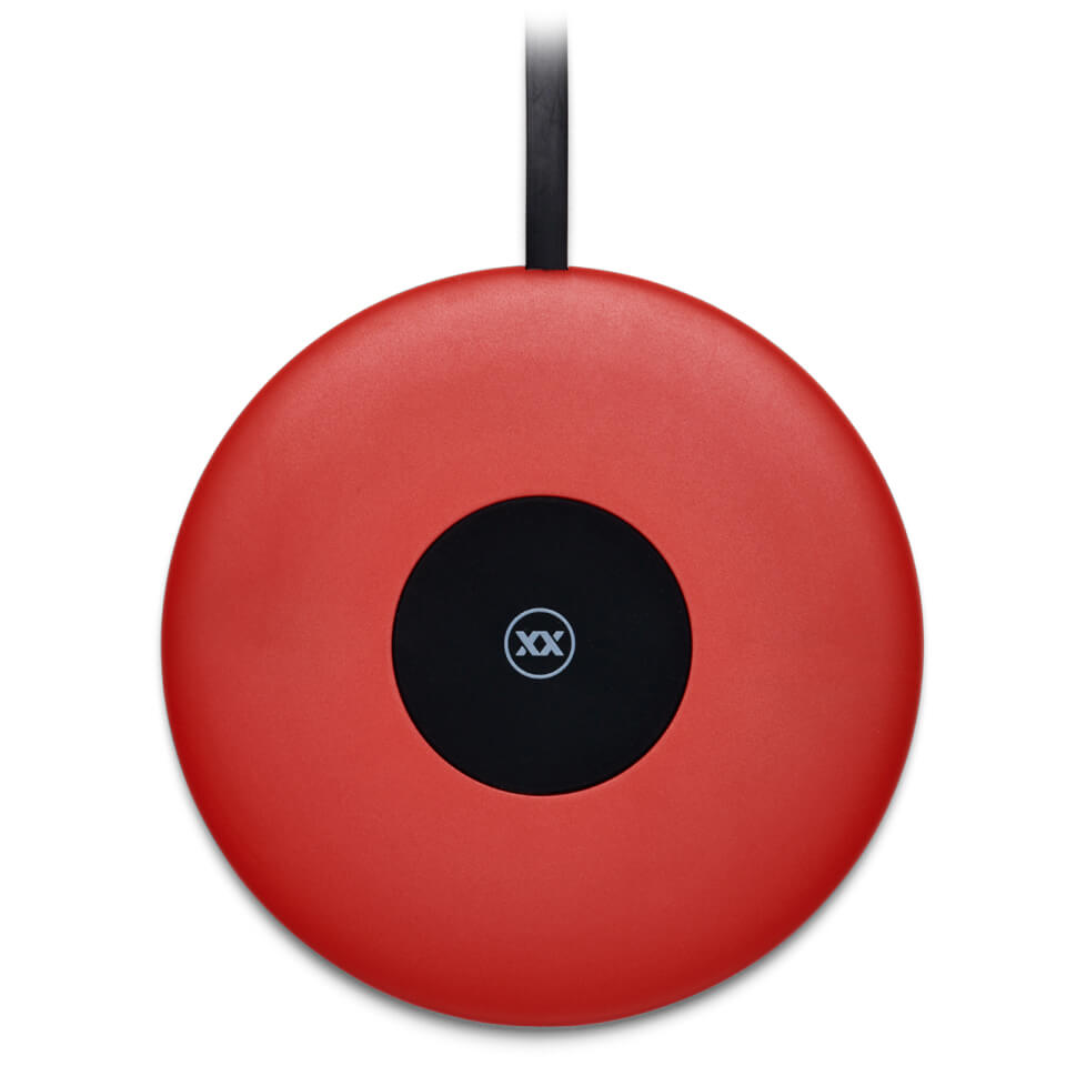 Mixx ChargeSpot Wireless Charger - Red