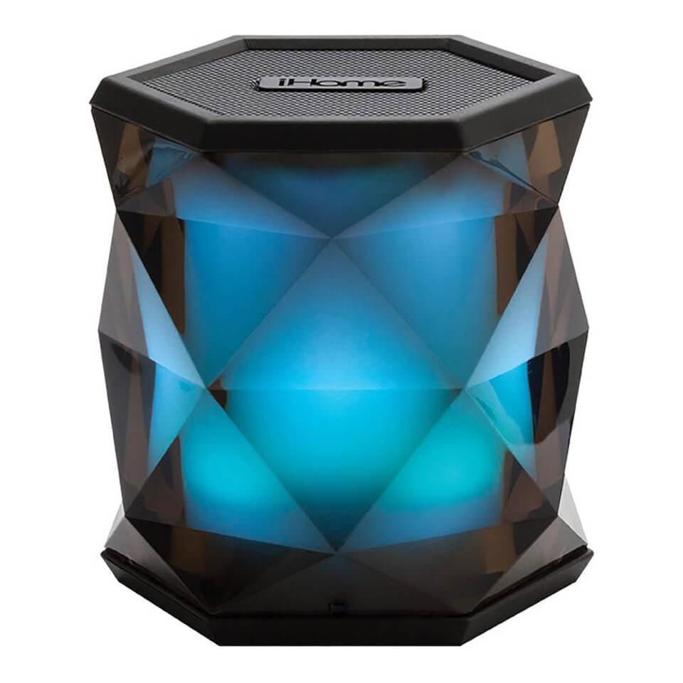 iHome iBT68 Colour Changing Rechargeable Bluetooth Speaker