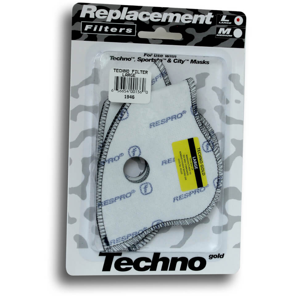 Respro Techno Filter - Pack Of 2 | item_misc