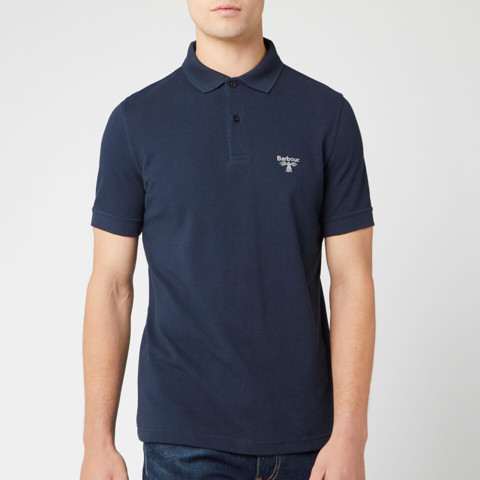 Barbour Beacon Men's Polo Shirt - Navy - L - Blue