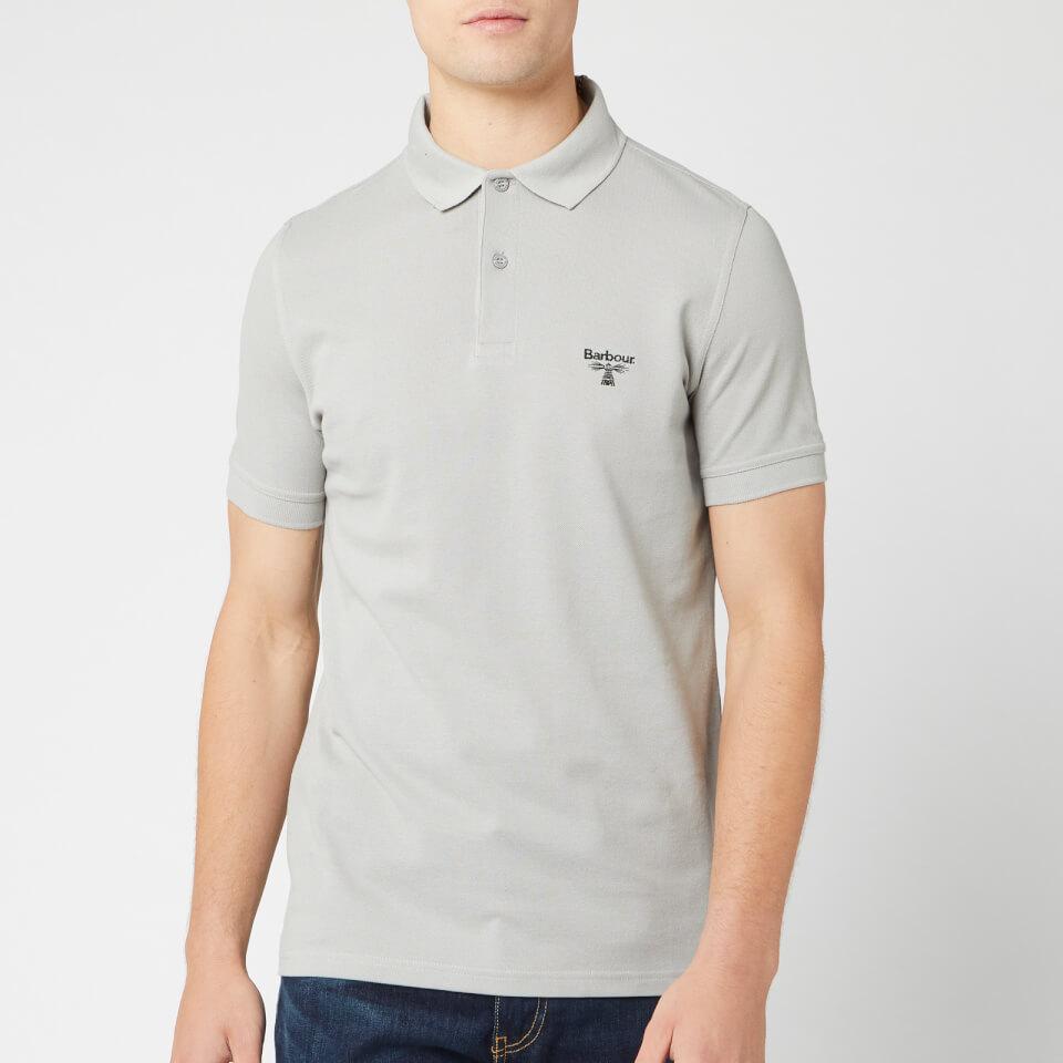 Barbour Beacon Men's Polo Shirt - Grey - L - Grey