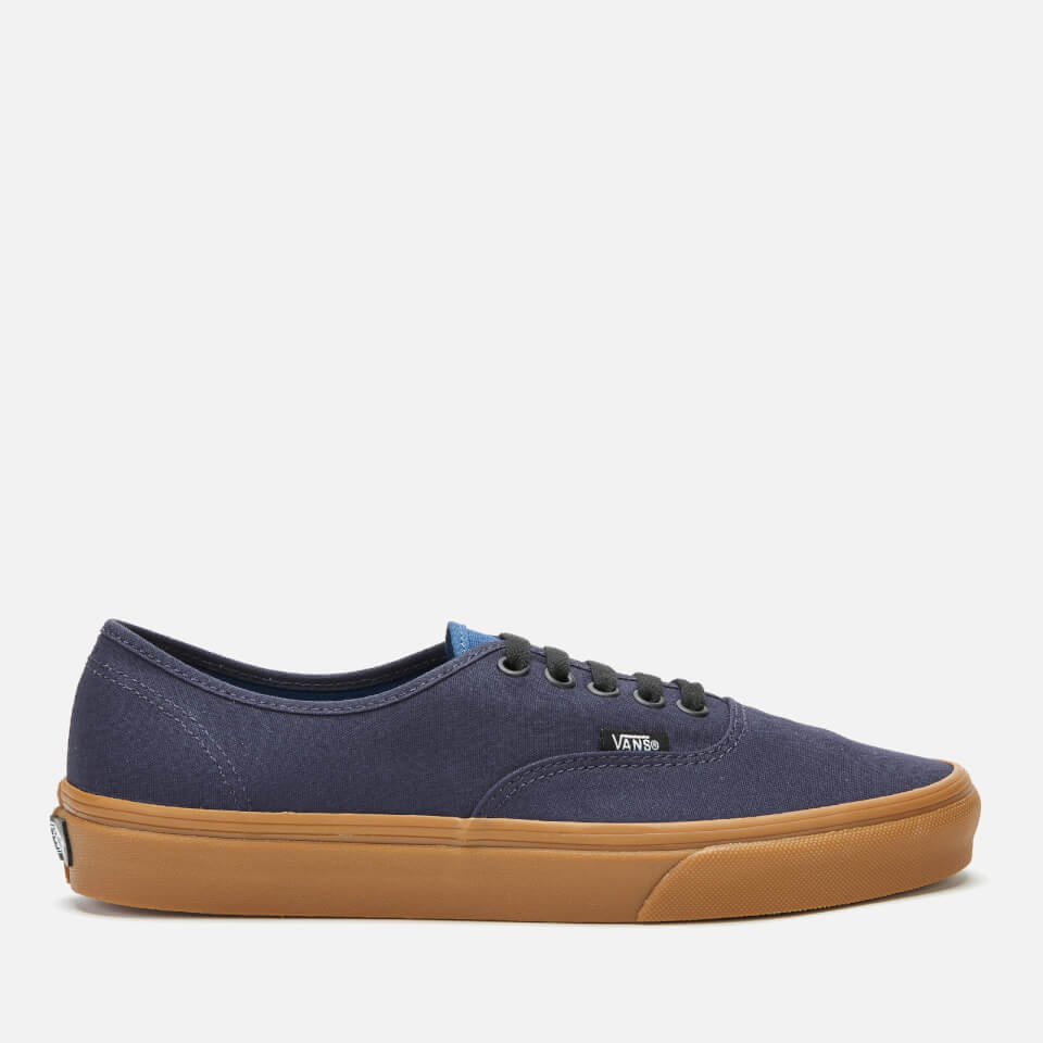 Vans Men's Authentic Gum Trainers - Night Sky/True Navy - UK 9