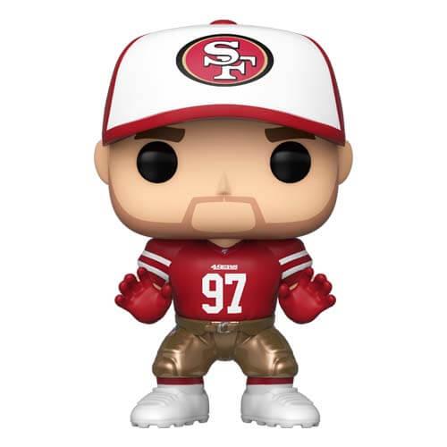 NFL 49ers Nick Bosa Pop! Vinyl Figur